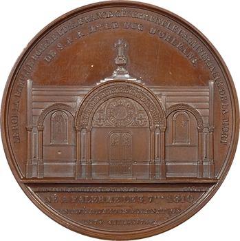 Louis-Philippe Ier, premier anniversaire de la mort du duc d'Orléans, 1843 Paris