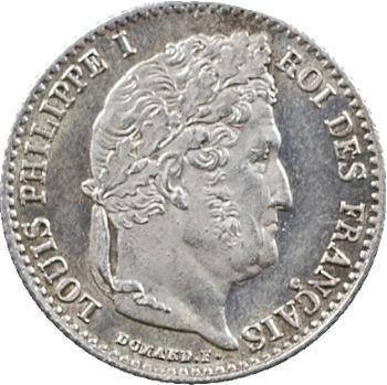 Louis-Philippe Ier, 1/4 franc, 1833 Rouen