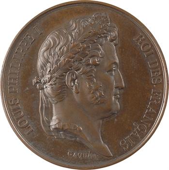 Louis-Philippe Ier, attentat à la vie du Roi, par Caqué, 1835 Paris