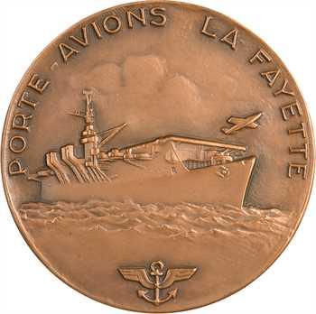 Guiraud (G.) : le Porte-avions La Fayette, s.d. Paris