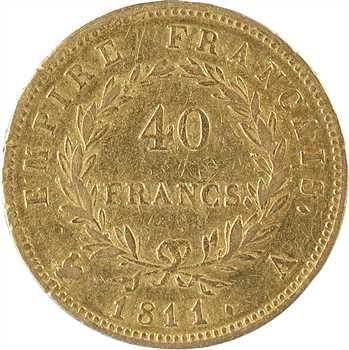 Premier Empire, 40 francs Empire, 1811 Paris
