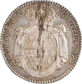 Louis XVI, États de Bretagne, 1786 Paris