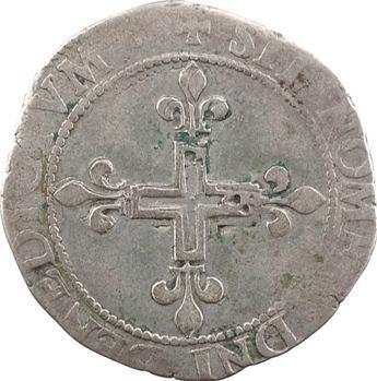 Charles IX, double sol parisis, 1569 Rouen