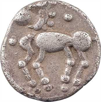 Trévires, denier au cheval, Ier s. av. J.-C