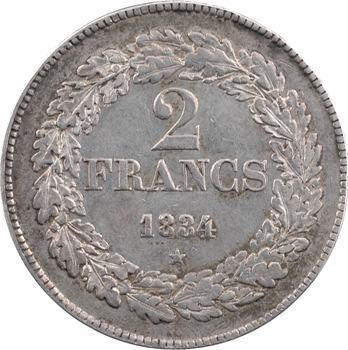 Belgique (royaume de), Léopold Ier, 2 francs, 1834 Bruxelles