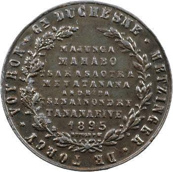 Madagascar (Île de), prise de Tananarive le 10 septembre 1895