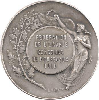 Algérie, Fédération de l'Oranie, concours de Perrégaux, 1910 Paris