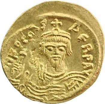 Phocas, semissis, Constantinople, 602-610