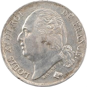 Louis XVIII, 1 franc, 1817 Toulouse