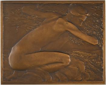 Saint-Marceaux (René de) : Les saisons (le printemps et l'hiver), 1908 Paris, SAMF N° 142