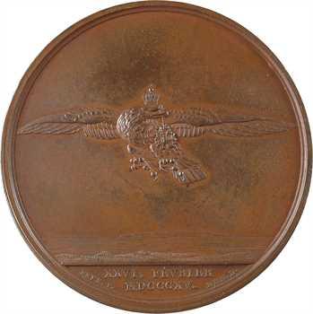 Les Cent-Jours, retour de Napoléon de l'Ile d'Elbe, par Andrieu, 1815 Paris