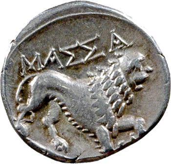 Marseille, drachme B, 121-49 av. J.-C.