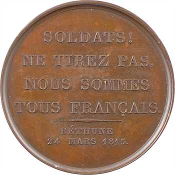 Duc de Berry, paroles du duc à Béthune le 24 mars, 1815 Paris