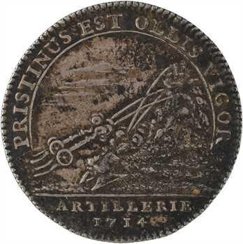 Artillerie, Louis-Auguste de Bourbon, 1714 Paris