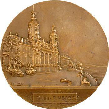 Monaco, cinquantenaire de la Société des Bains de Mer, par T. Szirmaï, 1913 Paris