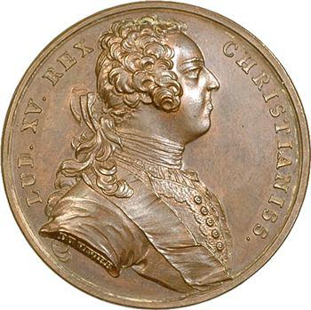 Louis XV, à la mémoire de Louis XIV, 1723 Paris