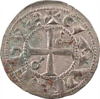 Roussillon (comté de), Gausfred III, denier, Perpignan