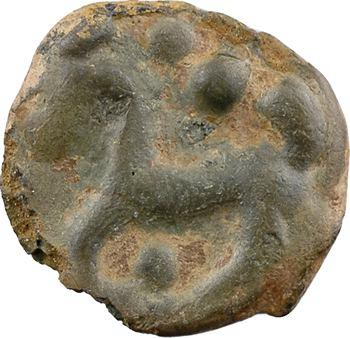 Sénons, potin à la grosse tête et à l'œil vide, avant 52 av. J.-C.