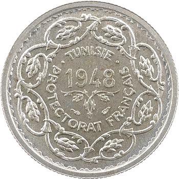 Tunisie (Protectorat français), Mohamed Lamine, 10 francs, 1948 Paris