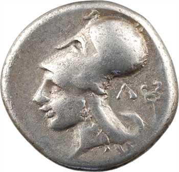 Acarnanie, Leukas, statère, c.350-330 av. J.-C.