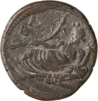 Égypte, Hadrien, tétradrachme, Alexandrie, An 17