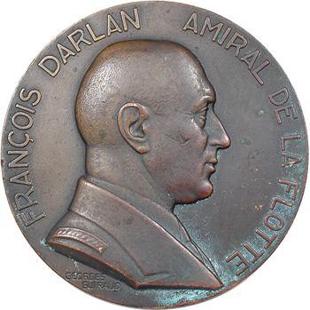 IIe Guerre Mondiale, François Darlan, amiral de la flotte, par Guiraud, s.d