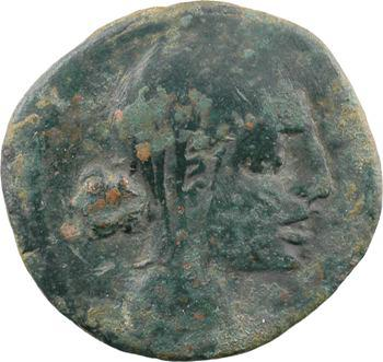 Nédènes (NERONKEN), bronze ou unité ? au taureau, s.d. (121-45 av. J.-C.) Montlaurès