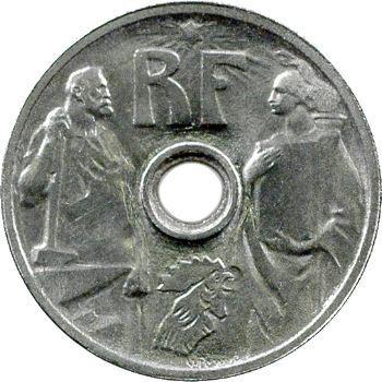 IIIe République, essai de 25 centimes par Prouvé, petit module, 1913 Paris