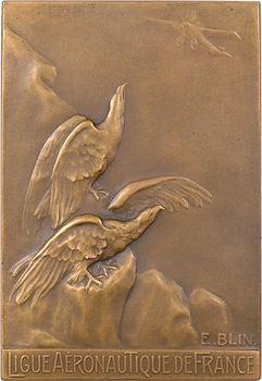 Blin (É.) : Ligue aéronautique, école de Clermont-Ferrand, au caporal Georges Noël (bombardier), 1917 Paris