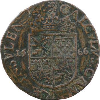 Flandre, jeton, Chambre des comptes, 1566