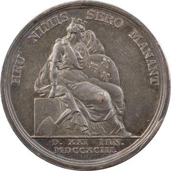 Louis XVI, mort du Roi, par Stierlé, 1793 Berlin