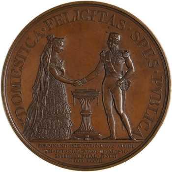 Louis-Philippe Ier, mariage du duc d'Orléans à Fontainebleau, 1837 Paris