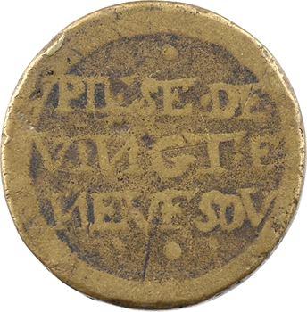 Espagne, Philippe IV, poids monétaire du quadruple réal, s.d