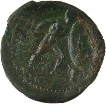 Italie, Bruttium, drachme en bronze, Brettii, c.211-208 av. J.-C.