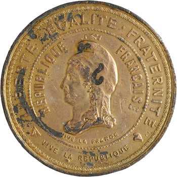 Guerre de 1870-1871, la ville de Dijon horone Giuseppe Garibaldi, 1871