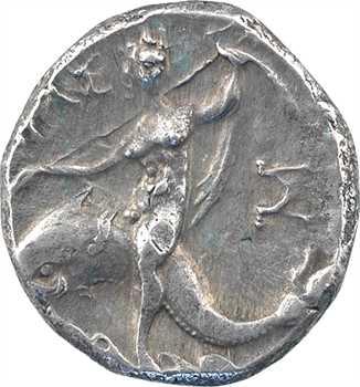 Calabre, Tarente, didrachme au nom de Xénokratès, c.235-228 av. J.-C.