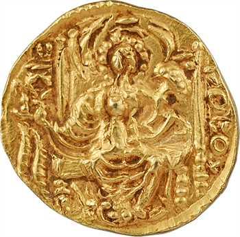 Koushans (royaume des), Vasu Deva II, statère, c.260-300 Taxila