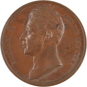 Charles X, avènement du roi, 1824