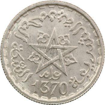 Maroc, 100 francs, 1370