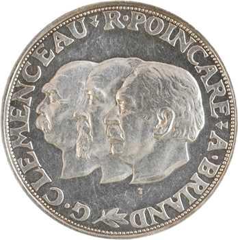 IIIe République, essai au module de 20 francs, 1929 Paris