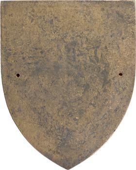 Madagascar, plaque uniface de la ville de Diego-Suarez, s.d