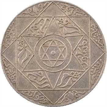 Maroc, Abdül Aziz I, 2 1/2 dirhams, AH 1318 (1900) Paris