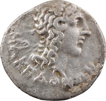 Macédoine sous domination Romaine, tétradrachme stéphanophore, Thessalonique, c.80 av. J.-C.