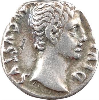 Auguste, denier, Lyon, 12 av. J.-C.