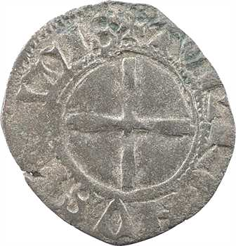 Charles VI, denier tournois dit petit niquet, Troyes