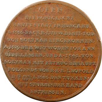 Autriche, Léopold Ier, libération de Budapest, 1686