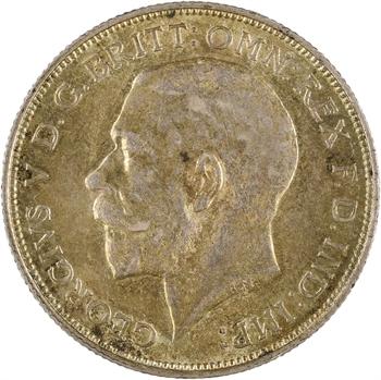 Royaume-Uni, Georges V, florin, 1913 Londres
