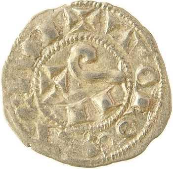 Toulouse (évêché et comté de), Raymond V à VII, obole, s.d. (1148-1249)