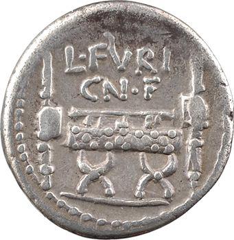 Furia, denier, Rome, 63 av. J.-C.