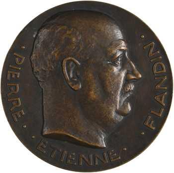 Pommier (A.) : Jubilé parlementaire de Pierre-Étienne Flandin, 1939